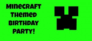 Minecraft-Themed-Party